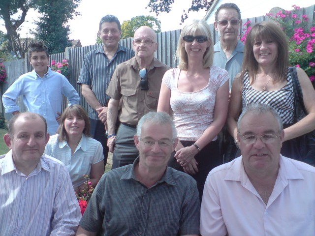 2012, family re-union, Chatham. Yours truly bottom right.