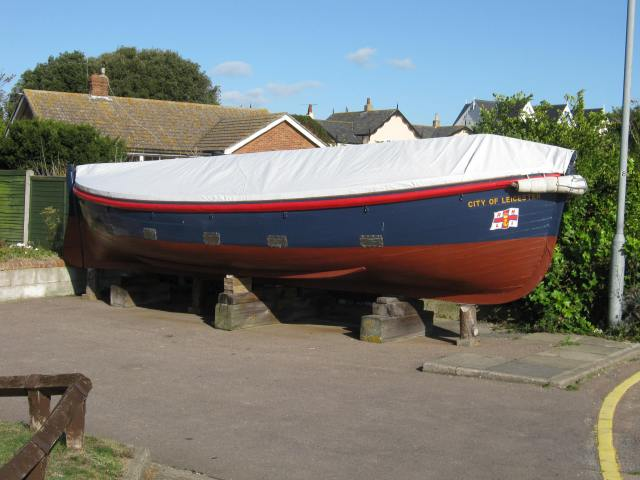 Clacton lifeboat, now standby ETV for the East Coast following the government's cutbacks