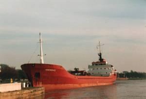 Crescent shipping 3500 tonne bulker. Fond memories.