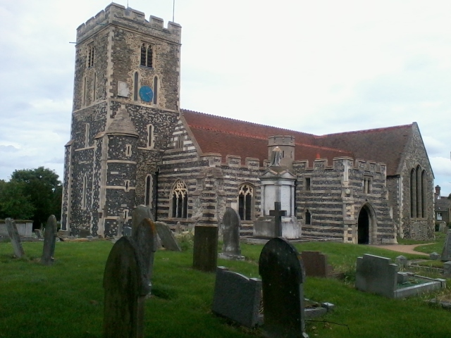 St Helens church at Cliffe in Kent. 13th century. Hauntingly lovely imho.