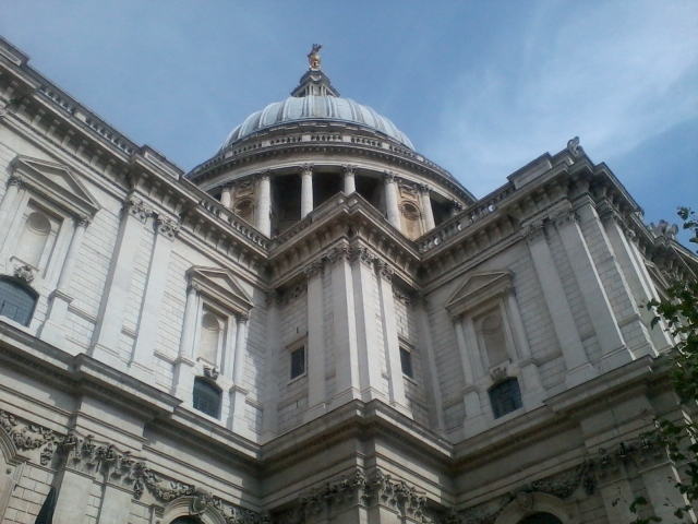 St Pauls, LundunnTarn. Fave of all fave buildings in Blighty.