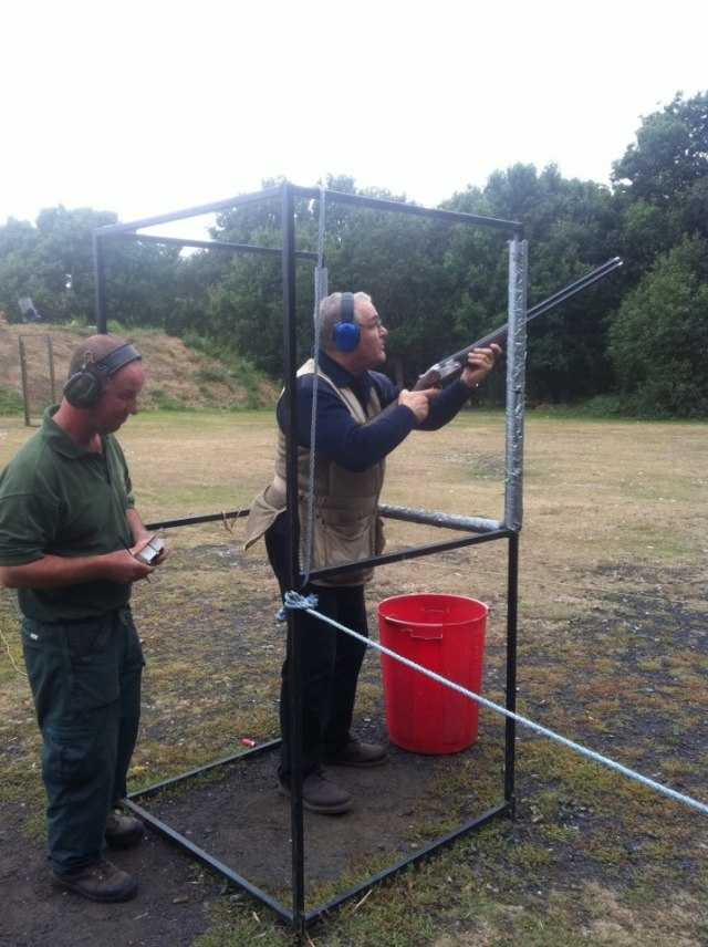 Allatsea allovertheplace at Greenfields Sturry. Can be passionate about clay busting but uncomfortable with the shooting crowd in general. They tend to either be too serious about it or........mad!