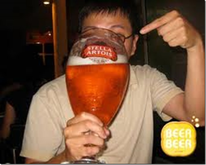 Big beer glass