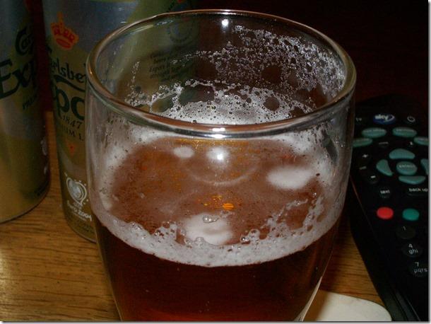 A glass of fine ale