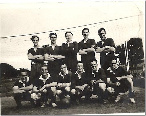 Dad RN footy team