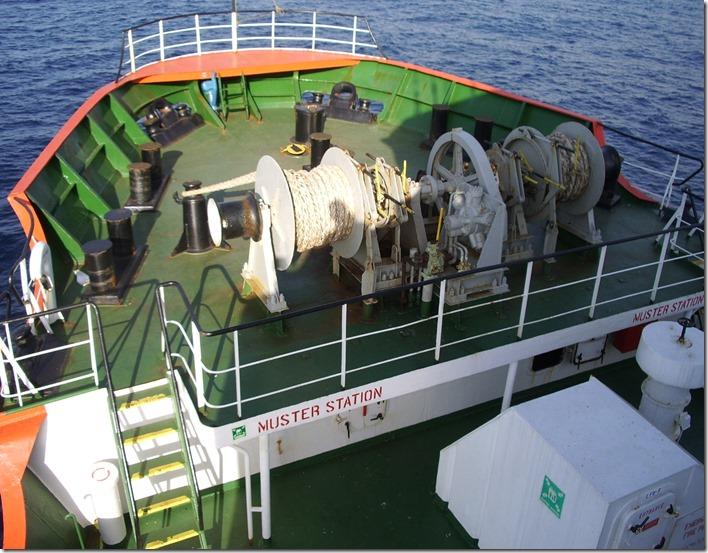 Sable Cape focsle